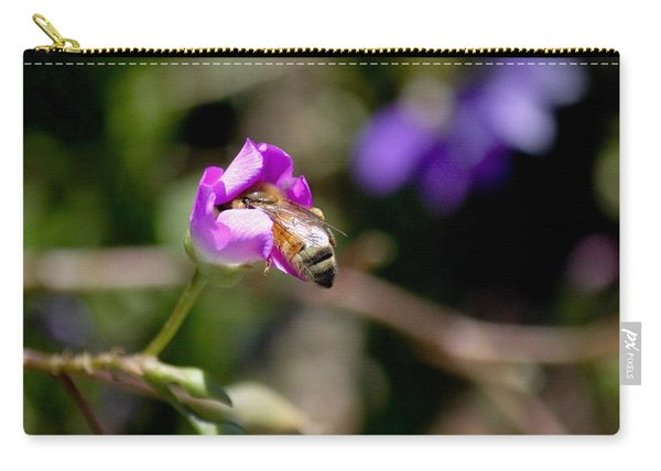 Bashful Bee  Carry-all Pouch