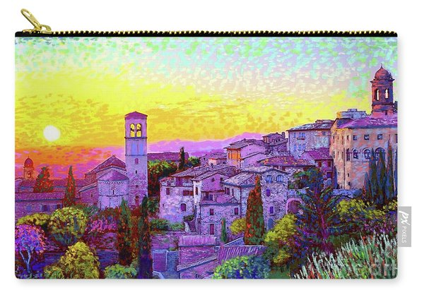 Basilica Of St. Francis Of Assisi Carry-all Pouch