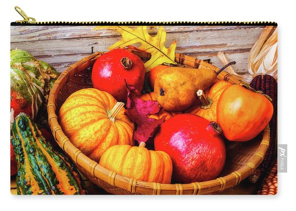 Basket Full Of Autumn Carry-all Pouch