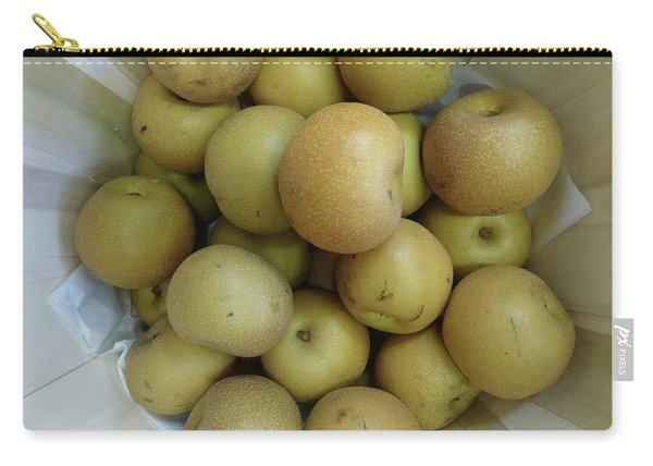 Basket Of Asian Pears Carry-all Pouch