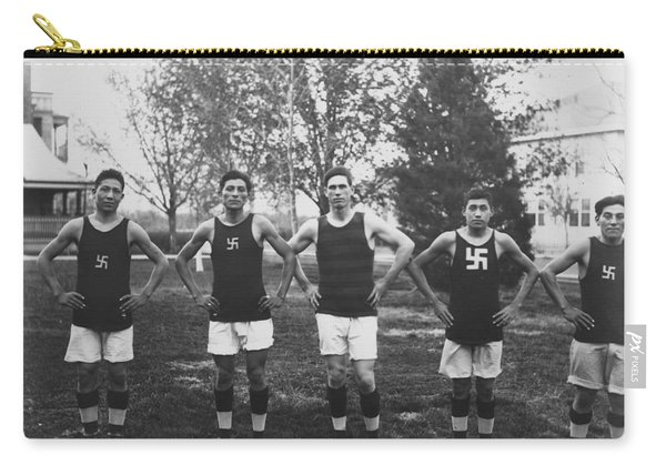 Basketball Team, Standing 1909 Carry-all Pouch