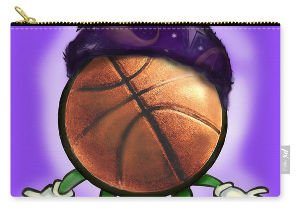 Basketball Wizard Carry-all Pouch