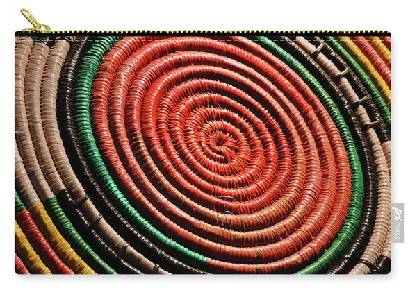 Basketry Color Carry-all Pouch