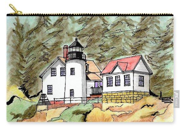 Bass Harbor Head Light Carry-all Pouch