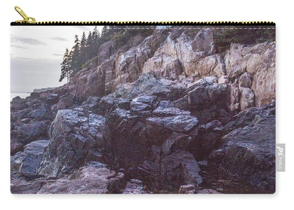 Bass Harbor Light Reflection Carry-all Pouch