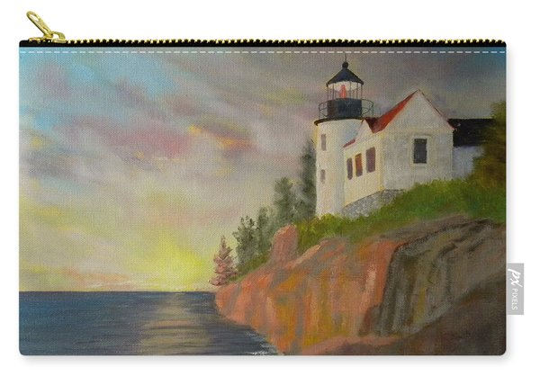 Bass Harbor Light Carry-all Pouch
