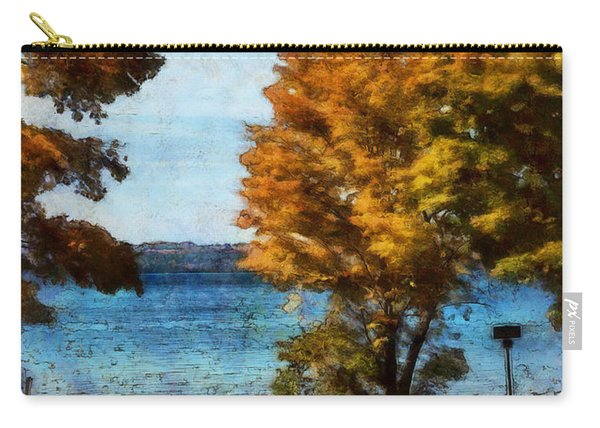 Bass Lake October Carry-all Pouch