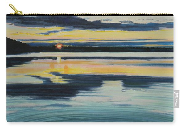 Bass Lake Sunset Carry-all Pouch