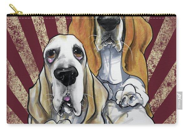Basset Hound Revolution Carry-all Pouch