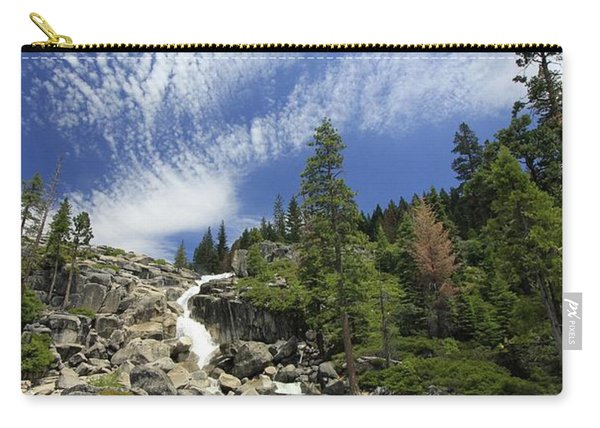 Carry-all Pouch featuring the photograph Bassi Flow  by Sean Sarsfield