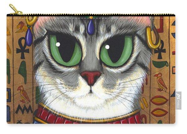 Bast Goddess - Egyptian Bastet Carry-all Pouch