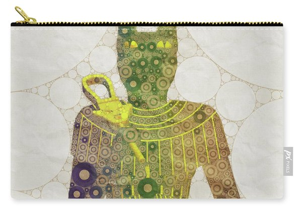 Bastet, Goddess Of Egypt, Pop Art By Mb Carry-all Pouch