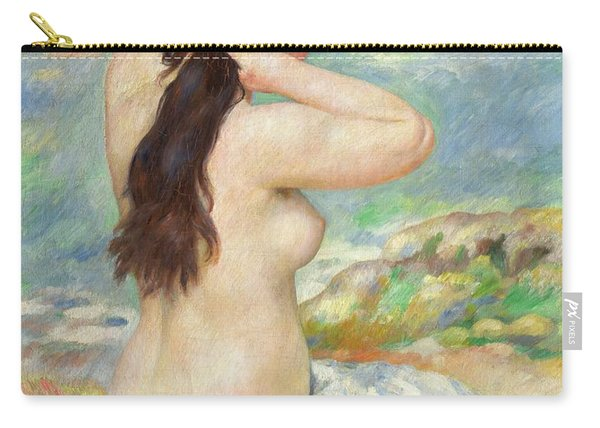 Bather Arranging Her Hair Carry-all Pouch