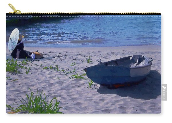 Bather By The Bay Carry-all Pouch