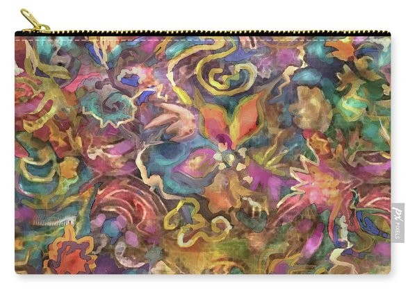 Batik Colorburst Carry-all Pouch