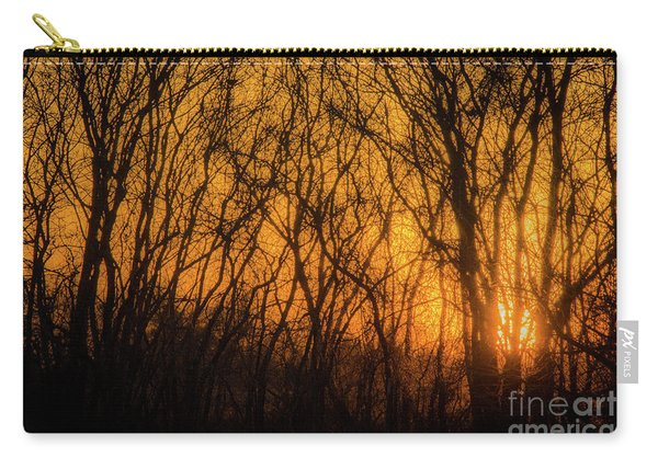 Batik Sunset Carry-all Pouch