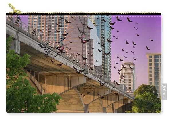 Bats Over Austin Carry-all Pouch