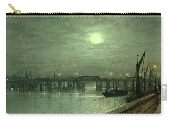 Battersea Bridge By Moonlight Carry-all Pouch