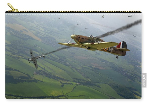 Battle Of Britain Dogfight Carry-all Pouch