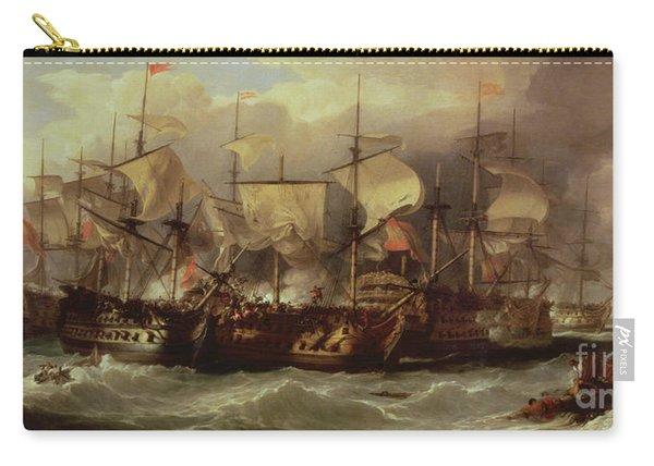 Battle Of Cape St Vincent Carry-all Pouch