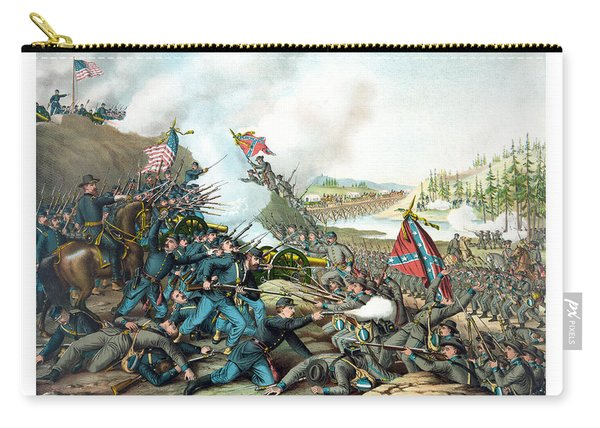 Battle Of Franklin - Civil War Carry-all Pouch