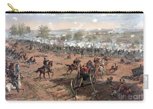 Battle Of Gettysburg Picketts Charge Carry-all Pouch