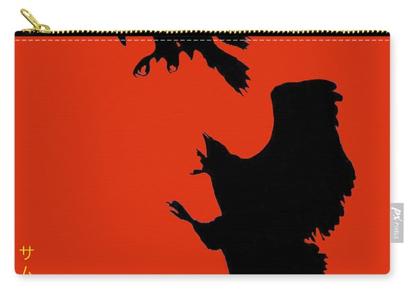 Battle Of The Eagles Carry-all Pouch