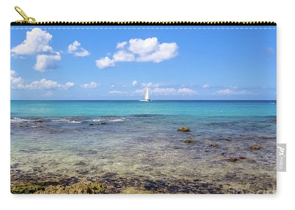 Carry-all Pouch featuring the photograph Bayahibe Coral Reef by Benny Marty