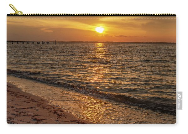 Bayside Sunset Carry-all Pouch