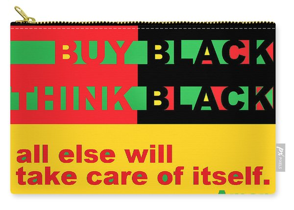 Be Black Rbg Carry-all Pouch