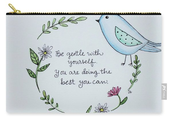 Be Gentle With Yourself Carry-all Pouch