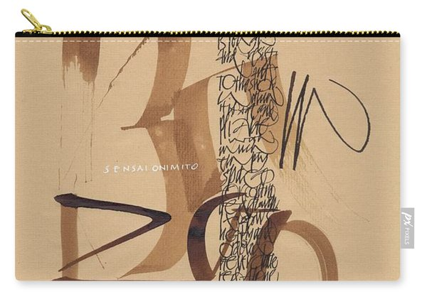 Be Like The Bamboo Carry-all Pouch