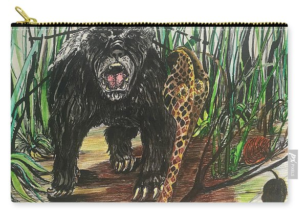 Be The Honey Badger Carry-all Pouch