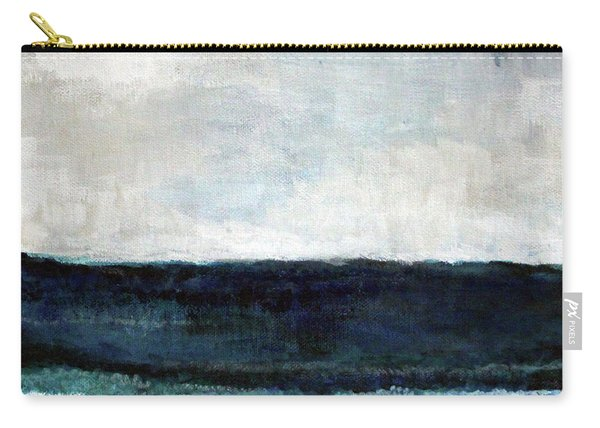 Beach- Abstract Painting Carry-all Pouch