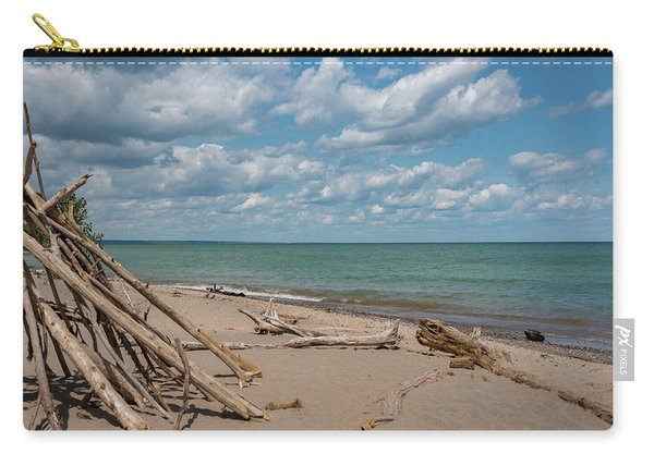 Beach At Doctors Park I Carry-all Pouch