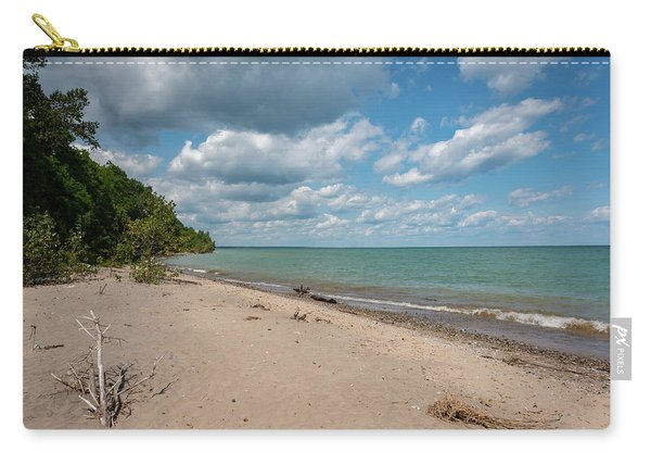 Beach At Doctors Park Iv Carry-all Pouch
