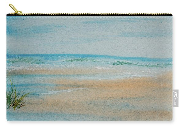 Beach At High Tide Carry-all Pouch