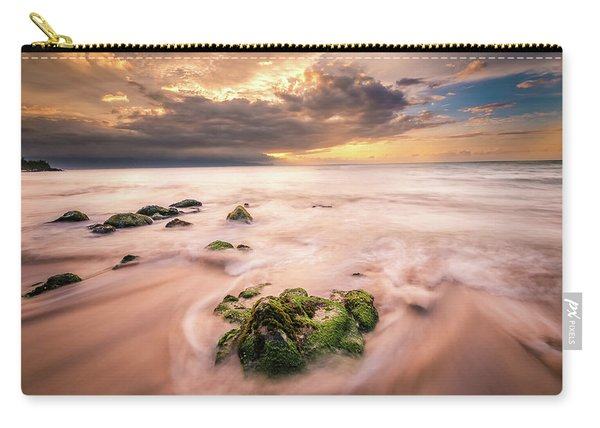 Beach At Paia Carry-all Pouch
