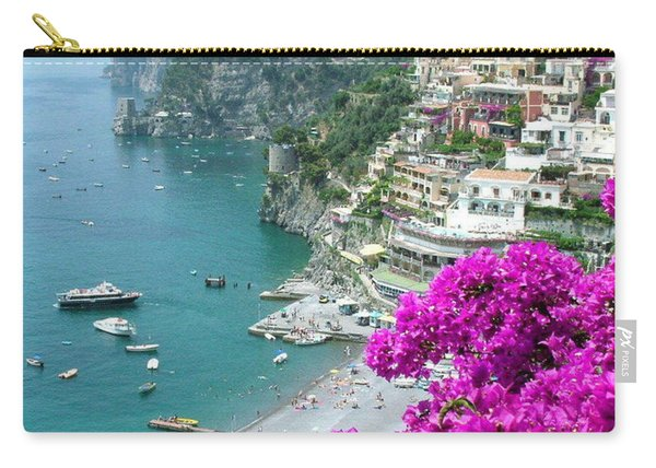 Beach At Positano Carry-all Pouch