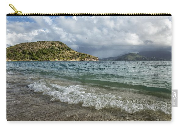 Beach At St. Kitts Carry-all Pouch