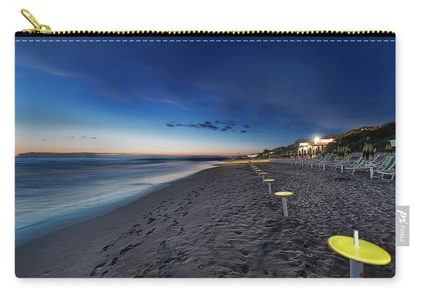 Beach At Sunset - Spiaggia Al Tramonto I Carry-all Pouch