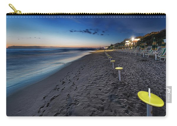 Beach At Sunset - Spiaggia Al Tramonto II Carry-all Pouch