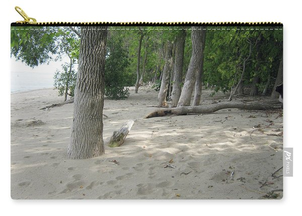 Beach At The Lake Carry-all Pouch