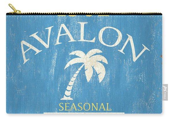 Beach Badge Avalon Carry-all Pouch