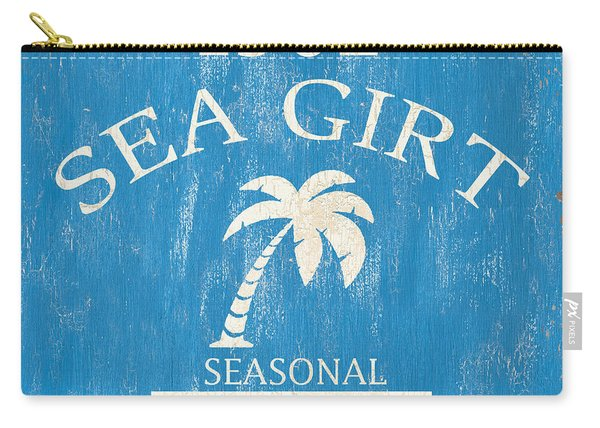Beach Badge Sea Girt Carry-all Pouch