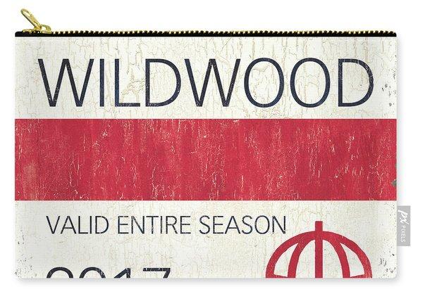 Beach Badge Wildwood 2 Carry-all Pouch