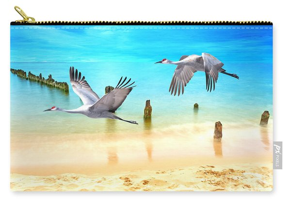 Beach Beauties Carry-all Pouch