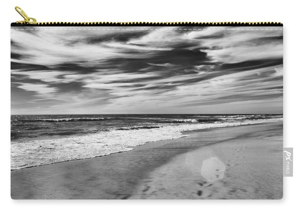 Carry-all Pouch featuring the photograph Beach Break by Alison Frank