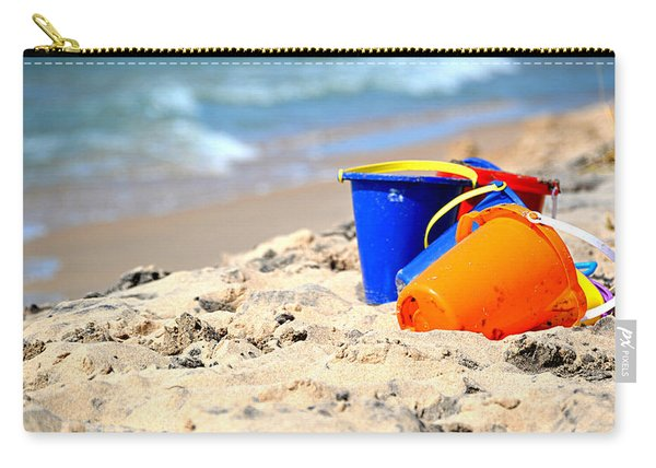 Beach Buckets Carry-all Pouch