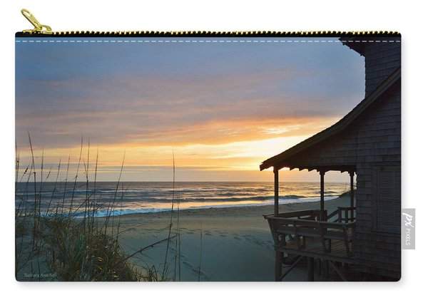 Beach Cottage Sunrise  Carry-all Pouch